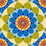无缝抽象五颜六色的模式 库存例证