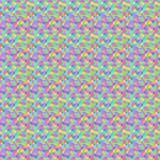无缝抽象五颜六色的模式 库存照片