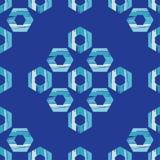 无缝抽象几何的模式 六角形纹理 粗鲁的 手孵化 库存照片