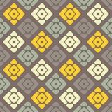 无缝抽象几何的模式 小条和菱形纹理  免版税图库摄影