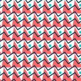 无缝抽象几何的模式 简单的三角背景 库存图片