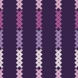 无缝抽象几何的模式 纹理补缀品 背景是能使用的镶嵌构造 粗鲁的 手孵化 皇族释放例证