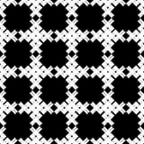 无缝抽象几何的模式 纹理补缀品 背景是能使用的镶嵌构造 粗鲁的 手孵化 向量例证