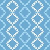 无缝抽象几何的模式 背景是能使用的镶嵌构造 链纹理 粗鲁的 手孵化 杂文纹理 免版税库存照片