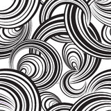 无缝抽象几何的模式 背景泡影您设计的例证 圈子 库存图片