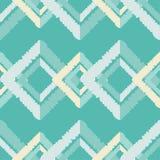 无缝抽象几何的模式 菱形纹理  手孵化 杂文纹理 库存照片