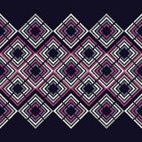 无缝抽象几何的模式 菱形纹理  粗鲁的 手孵化 杂文纹理 库存照片