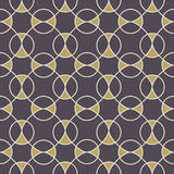 无缝抽象几何的模式 库存照片
