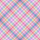 无缝抽象模式的彩虹 库存照片