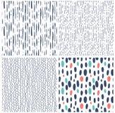 无缝抽象现代的模式 免版税库存照片