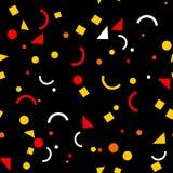 无缝抽象的模式 几何纹理 杂色的背景 库存照片