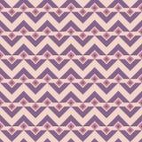 无缝抽象的模式 时髦的纹理向量 重复菱形和三角元素的几何装饰品 向量例证