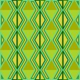 无缝抽象的模式 模式无缝的三角 绿色 库存照片