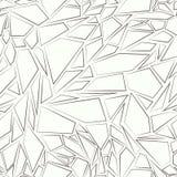 无缝抽象的模式 残破的玻璃的作用 免版税库存图片