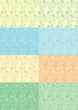 无缝抽象的模式 免版税库存照片