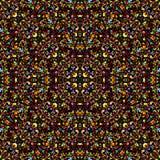 无缝抽象的模式 库存照片