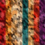 无缝抽象的色标 库存图片