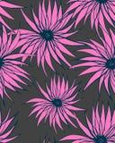 无缝抽象的花纹花样 皇族释放例证