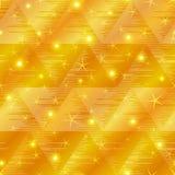无缝抽象背景的金子 库存例证