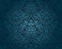 无缝抽象花卉的模式 免版税图库摄影