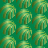 无缝抽象绿色的模式 视觉容量作用 适用于纺织品,织品和包装 免版税库存照片