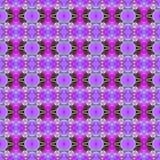 无缝明亮的紫色兰花的花 皇族释放例证