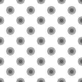 无缝春黄菊的样式 库存例证