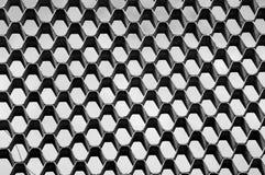 无缝最佳的计算机生成的蜂窝模式的repicate 无缝的六角形纹理 图库摄影