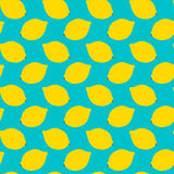 无缝柠檬的模式 向量例证