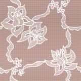 无缝模式的玫瑰 免版税库存图片