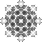 无缝水晶的模式 库存图片