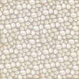 无缝灰色模式的小卵石 图库摄影