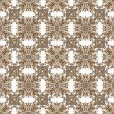 无缝的万花筒纹理或样式在褐色1 库存图片