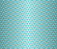 无缝的三角例证 库存图片