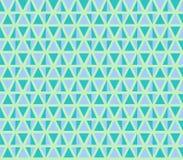无缝的三角例证 免版税库存图片