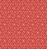无缝的与三角的astract几何样式-导航eps8 库存图片