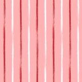 无缝的与手拉的线的传染媒介难看的东西几何样式 与水平的条纹图形设计, grung的不尽的背景 向量例证