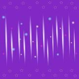 无缝的与raysdecorative的星的纹理紫色背景 库存照片