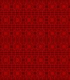 无缝的中国窗口网眼图案线样式背景 皇族释放例证