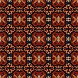 无缝的乱画传染媒介样式种族部族样式背景 免版税图库摄影