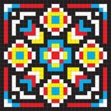无缝的五颜六色的抽象样式 免版税库存图片