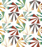 无缝的五颜六色的条纹 几何模式 适用于纺织品,织品和包装 免版税图库摄影