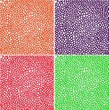 无缝的五颜六色的样式集合 库存照片