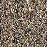 无缝的五颜六色的海向背景扔石头 库存图片