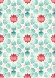 无缝的伊斯兰教的几何 免版税库存图片