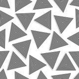 无缝的传染媒介三角 皇族释放例证