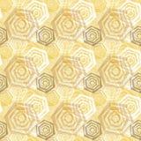 无缝的传染媒介多角形样式 免版税库存图片