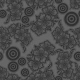 无缝的传染媒介重复了样式设计背景3D作用 向量例证