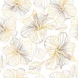 无缝的传染媒介花卉样式 库存照片