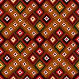 无缝的传染媒介部族背景 多彩多姿的背景 图库摄影
